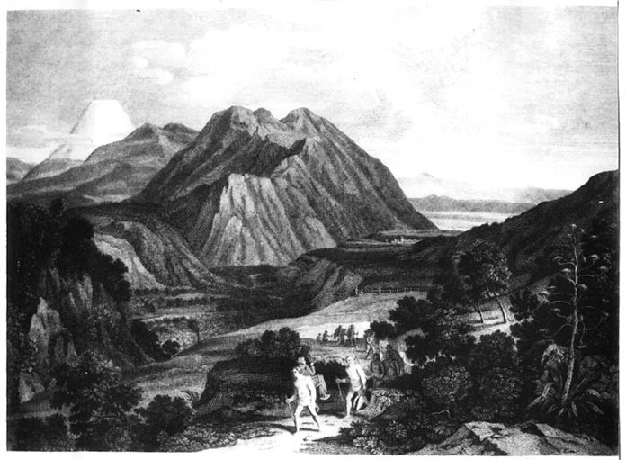 Humboldt cruzando la cordillera de los Andes