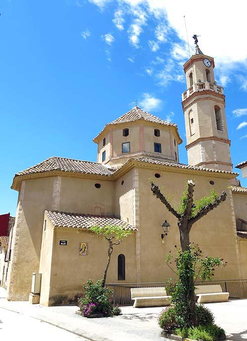 Iglesia de San Ramón, Masllorenç.