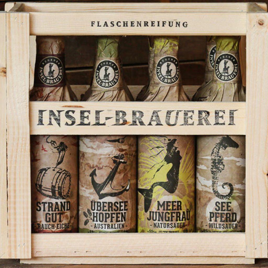 Rügener  Insel-Brauerei Quadriga