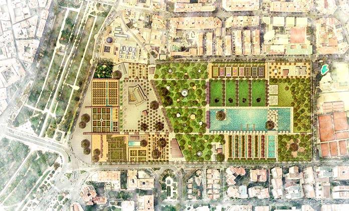 Jardines del Real de Valencia