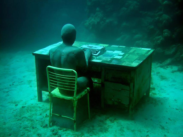 Jason deCaires Taylor: Lost correspondent
