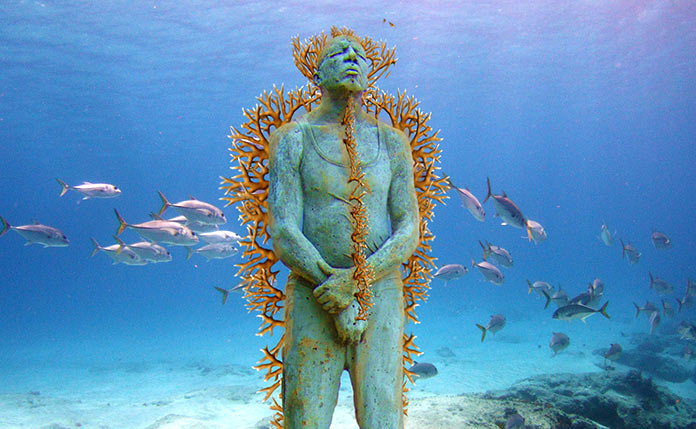 Jason deCaires Taylor: Man on fire