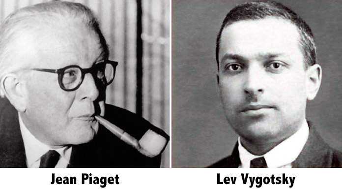 a comparison of lev vygotsky and jean piagets theories A comprehensible comparison between the theories of both authors.