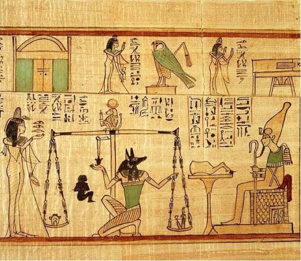 Tipos de escritura: Jeroglíficos egipcios