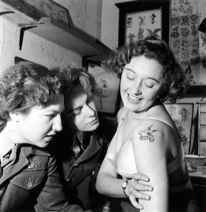 Tatuaje realizado por Jessie Knight
