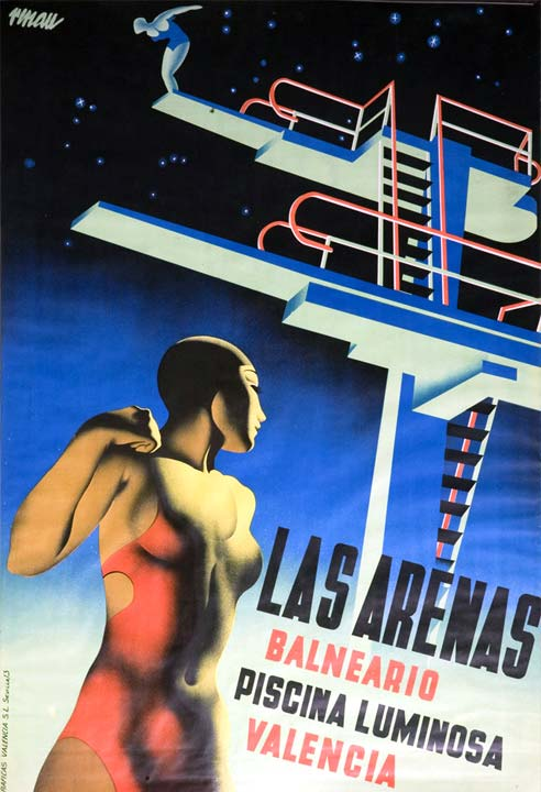 Josep Renau: Las Arenas (1932)