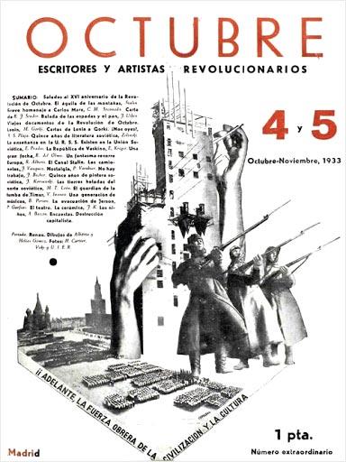 Josep Renau: Revista Octubre