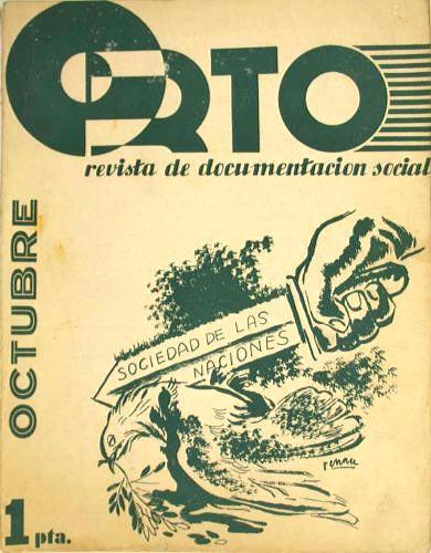 Josep Renau: Revista Orto