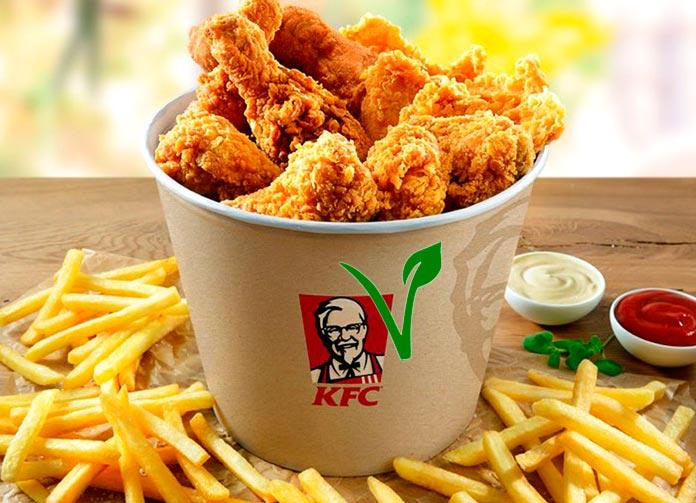 KFC sacará al mercado pollo frito vegetariano