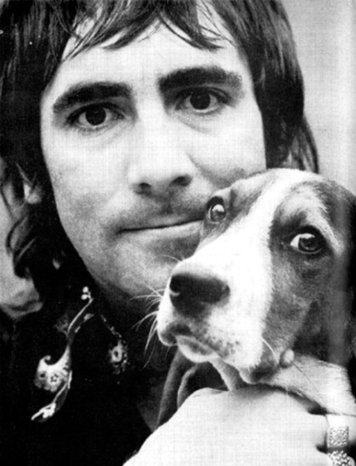 Keith Moon con su perro