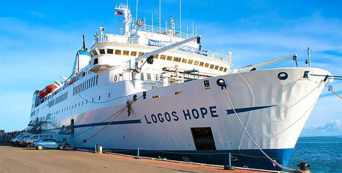 Logos Hope, la librería flotante que recorre el mundo.