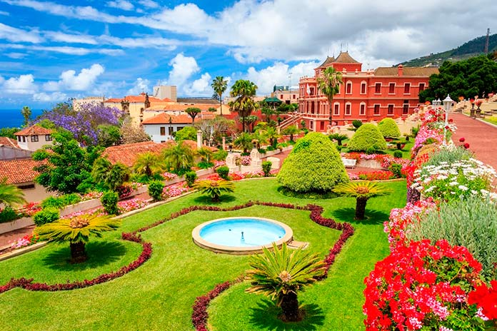 Jardines de La Orotava, Tenerife