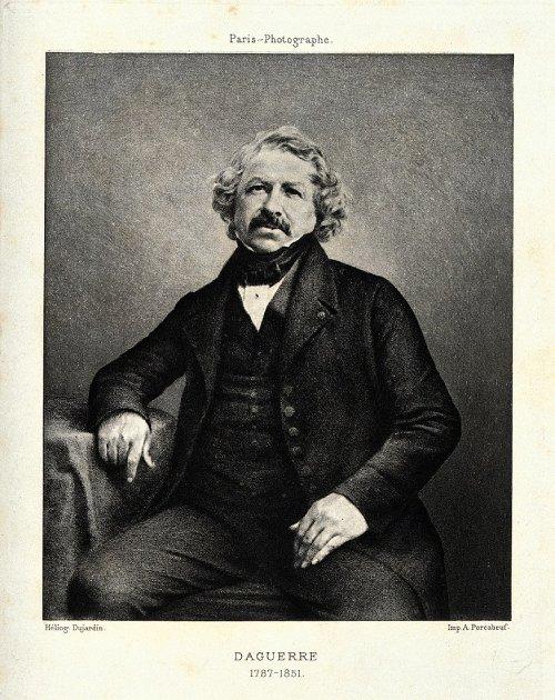 La primera fotografía de la historia Louis Daguerre