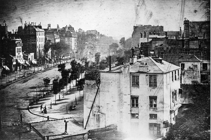 La primera fotografía de la historia Primer daguerrotipo Paris 1839