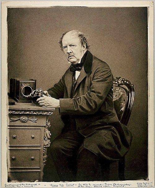 La primera fotografía de la historia Talbot