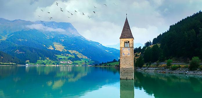 Lago di Resia (Italia)