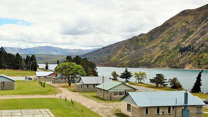 Lake Waitaki Village (Nueva Zelanda)