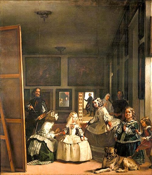 Las Meninas (1656) Óleo de Diego Velázquez