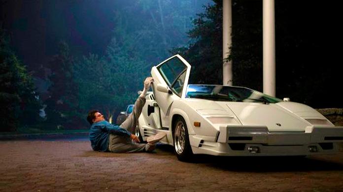 El Lobo de Wall Street - Leonardo DiCaprio coche