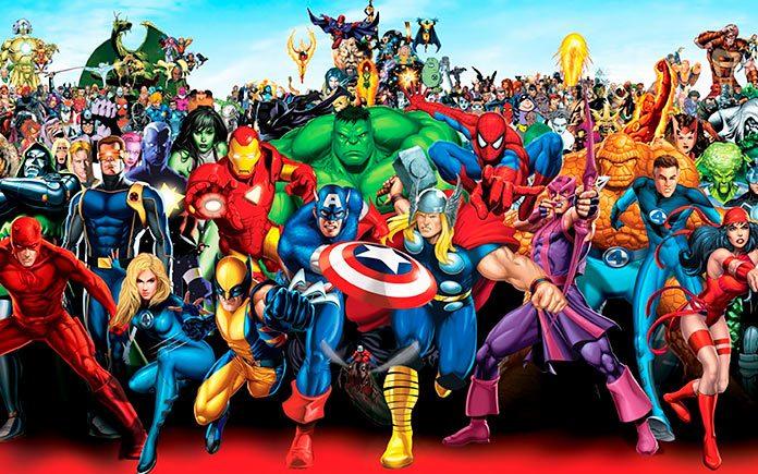 Esto es lo que pasaría si los superhéroes envejecieran. Ilustraciones de Lesya Guseva.