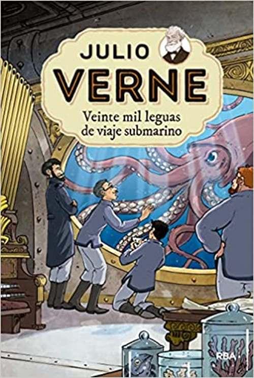 Libros más vendidos en el mundo: Veinte mil leguas de viaje submarino.