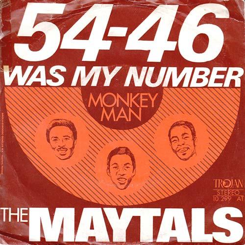 El mejor reggae: 54-46 Was my number