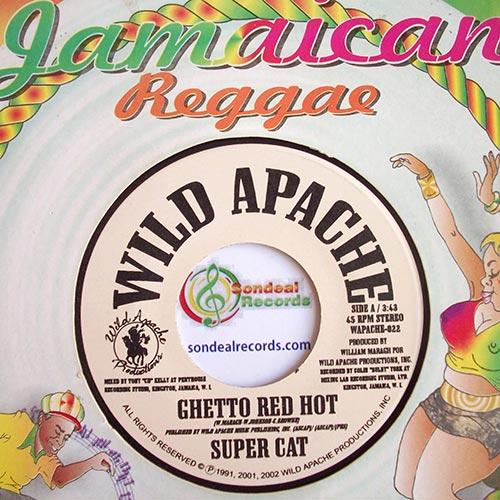 El mejor reggae: Ghetto red hot