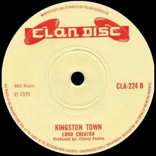 Lo mejor del reggae: Kingston town