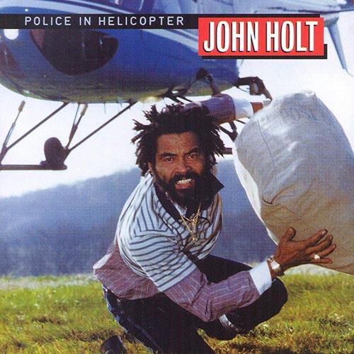 Lo mejor del reggae: Police in helicopter