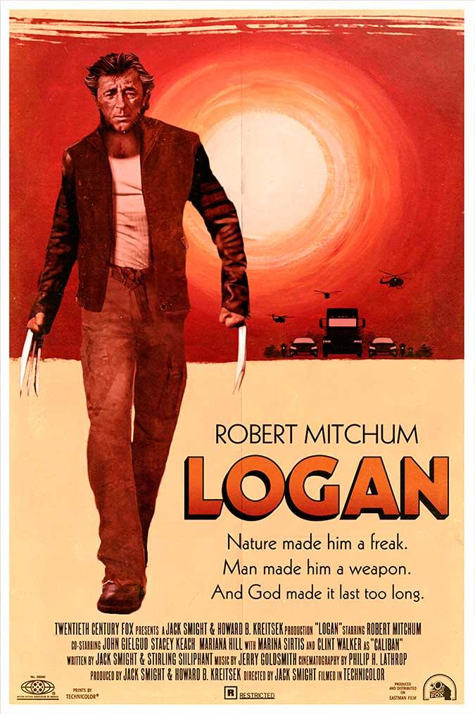 """Cartel de """"Logan"""" (1972)"""