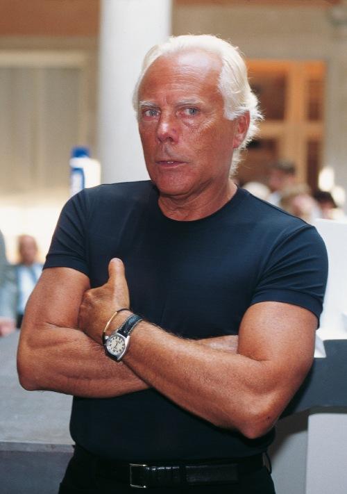 Los 20 diseñadores de alta costura más influyentes de todos los tiempos - Giorgio Armani.