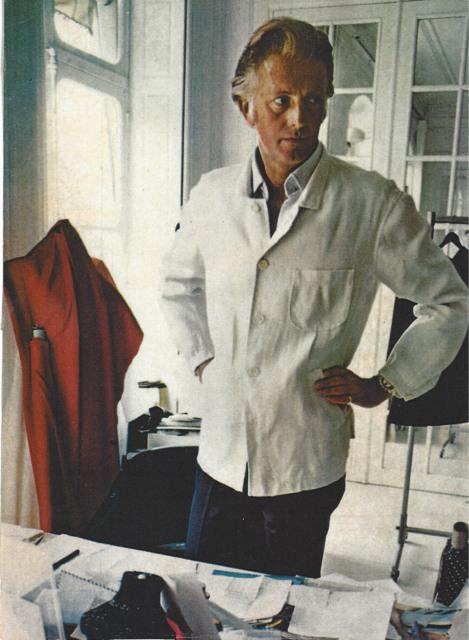Los 20 diseñadores de alta costura más influyentes de todos los tiempos - Hubert de Givenchy.