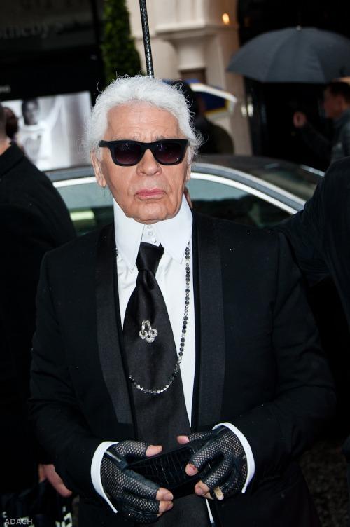 Los 20 diseñadores de alta costura más influyentes de todos los tiempos - Karl Lagerfeld.
