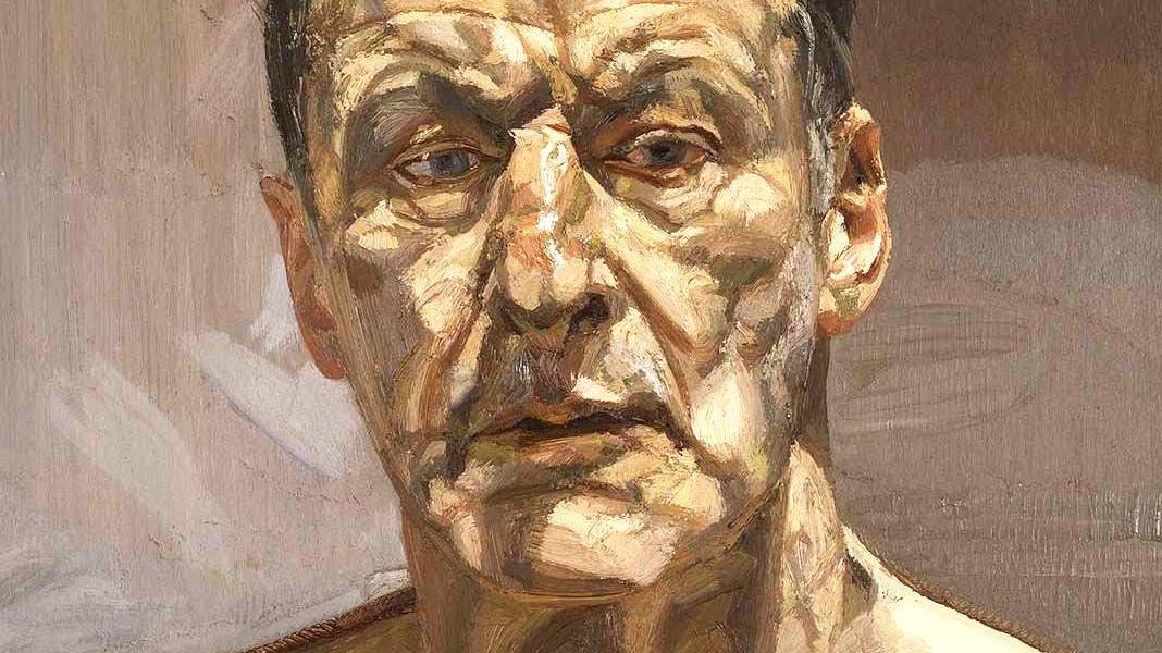 Los obsesivos retratos hiperrealistas de Lucian Freud