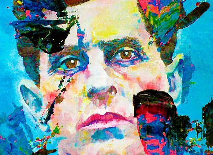 Pintura de Ludwig Wittgenstein