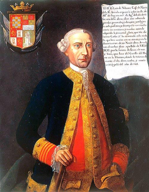 Retrato de Luis Vicente de Velasco