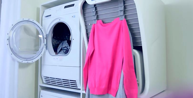 El reto tecnológico de las máquinas que planchan y doblan ropa.