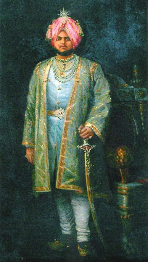 Majarajá de Kapurthala, esposo de Anita Delgado