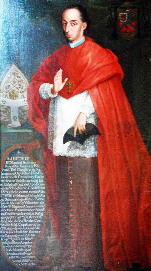 Retrato de Manuel Rojo Río Vieyra y Fuente
