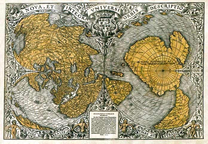 Mapa de Oronteus Finaeus
