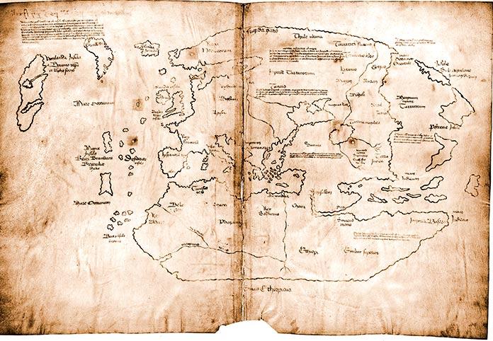 Mapa de Vinlandia