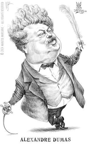 Marzo Mariani - Alexandre Dumas