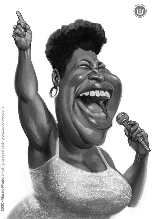 Marzo Mariani - Aretha Franklin