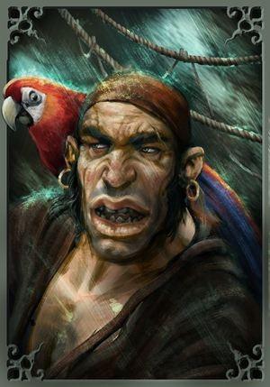 Marzo Mariani - Caricatura Pirata
