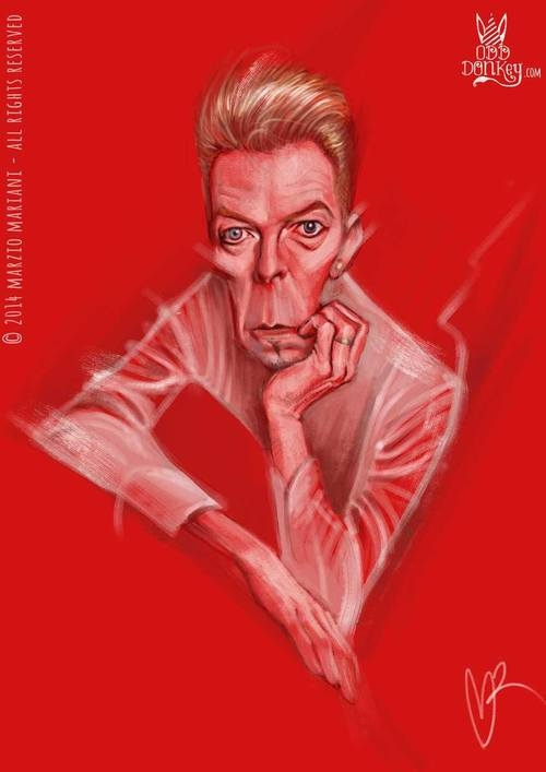 Marzo Mariani - David Bowie