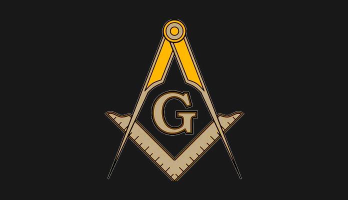 """La escuadra y el compás son los dos símbolos masónicos más conocidos. Las letras """"G"""" y """"A"""" representan al Gran Arquitecto del Universo"""