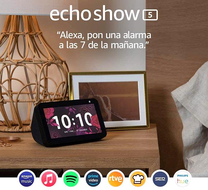 Mayores descuentos Amazon - Echo Show 5