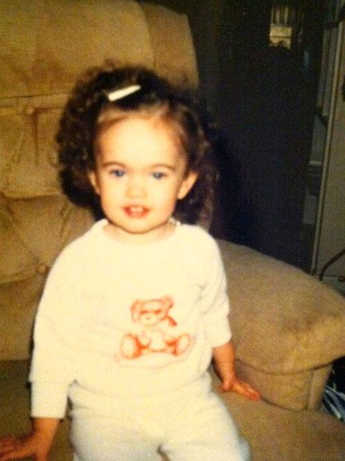 Megan Fox de pequeña