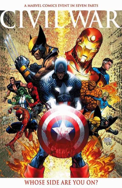 Mejores-comics-Marvel-Civil-War
