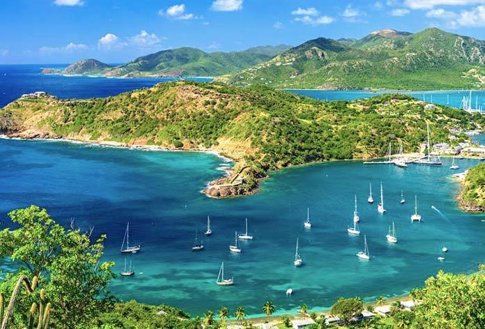 Mejores islas del Caribe - Antigua y Barbuda